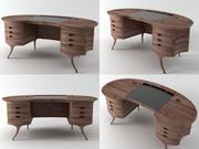 Bean Desk 3d model