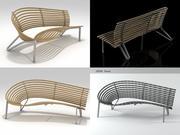 Leda Seat 3d model
