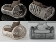 Лола Кресло 3d model
