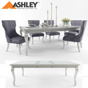 Ashley Furniture Table & Chair 3d model