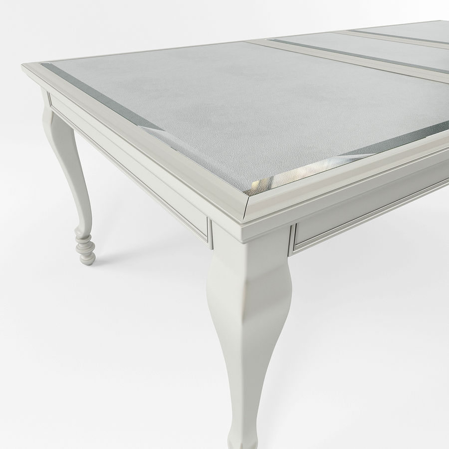 Ashley meubels tafel en stoel royalty-free 3d model - Preview no. 4