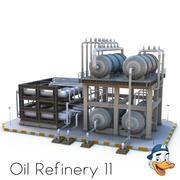 Oljeraffinaderi 11 3d model