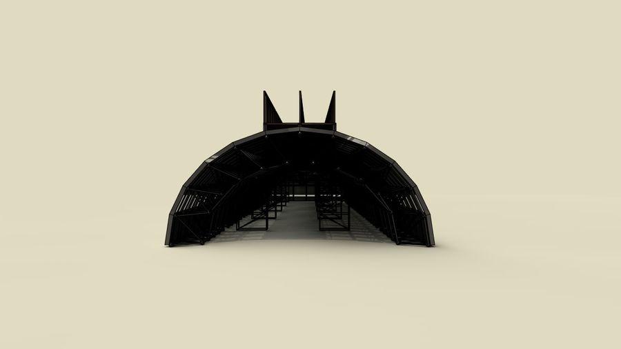 hangar royalty-free 3d model - Preview no. 15