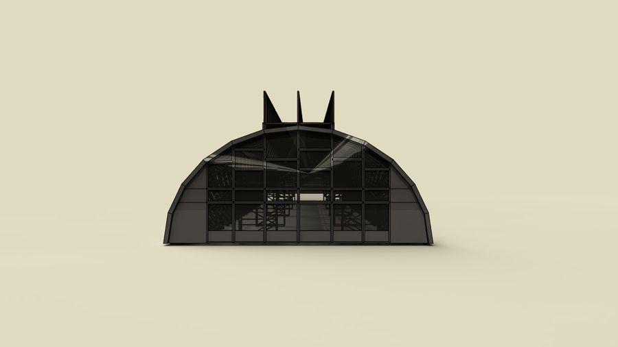 hangar royalty-free 3d model - Preview no. 13