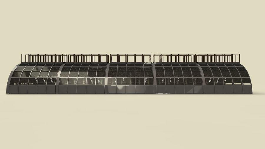 hangar royalty-free 3d model - Preview no. 1