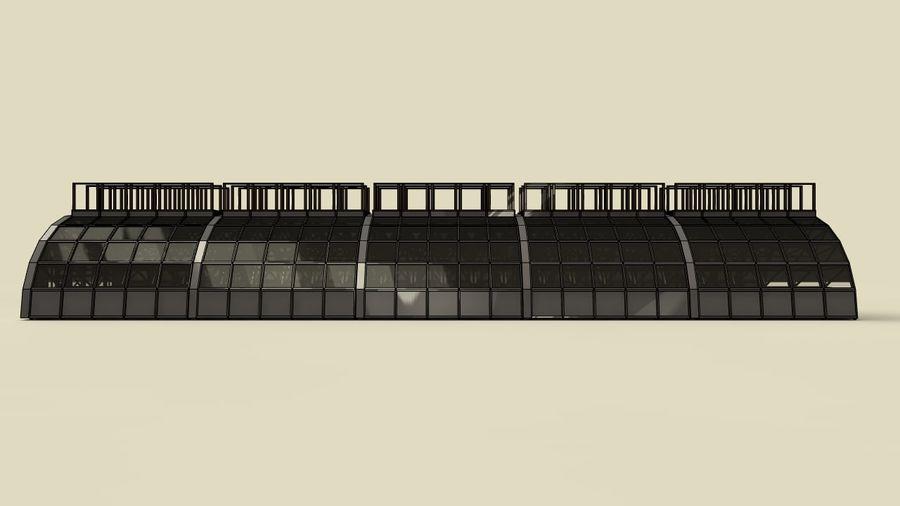 hangar royalty-free 3d model - Preview no. 16