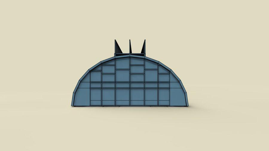 hangar royalty-free 3d model - Preview no. 12