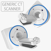 Medische generieke CT-scanner 3d model
