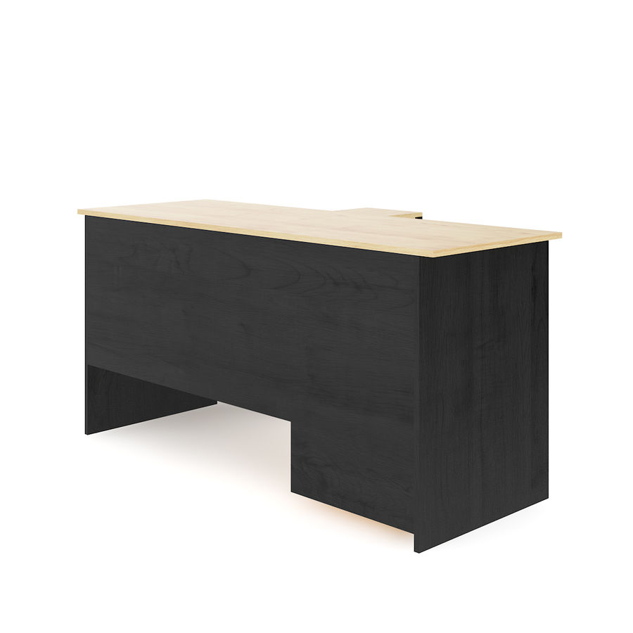 Desk with Office Cabinet royalty-free 3d model - Preview no. 5