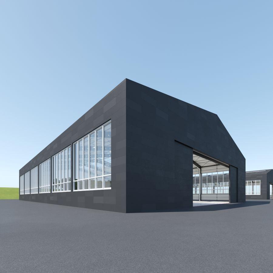 Hangar royalty-free 3d model - Preview no. 5