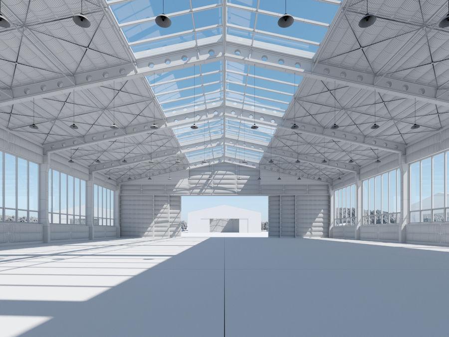 Hangar royalty-free 3d model - Preview no. 8