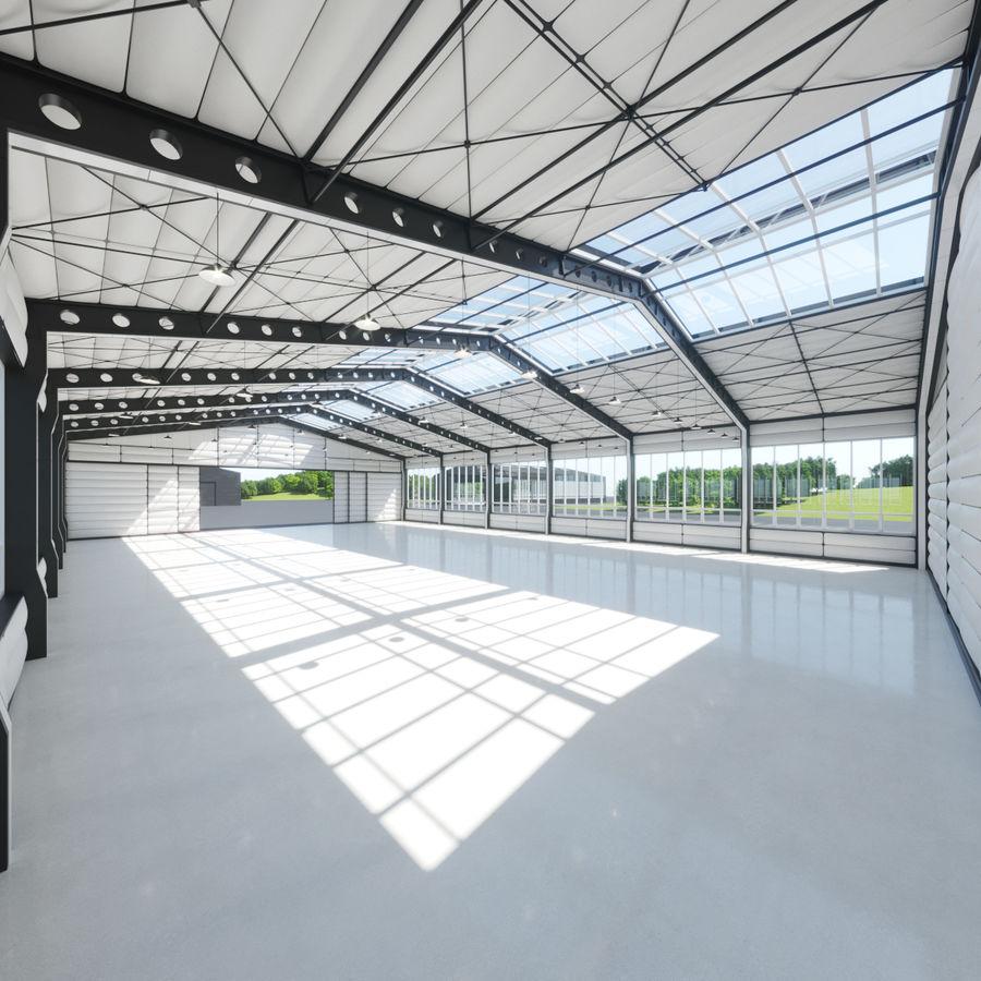 Hangar royalty-free 3d model - Preview no. 2