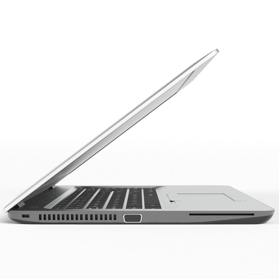 Laptop Computer royalty-free 3d model - Preview no. 4