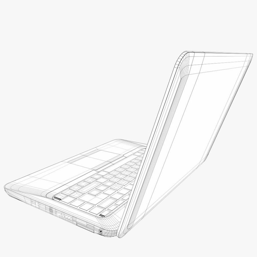 Laptop Computer royalty-free 3d model - Preview no. 8