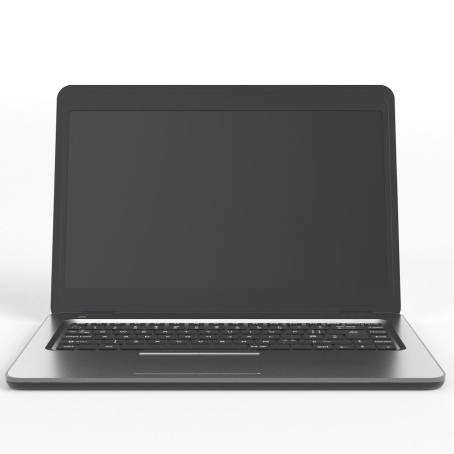 Laptop Computer royalty-free 3d model - Preview no. 3