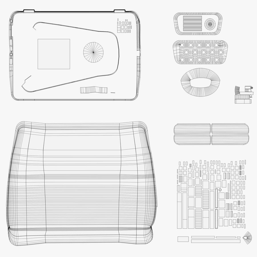 Laptop Computer royalty-free 3d model - Preview no. 15