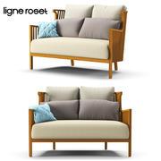 Sofa Ligne Roset Elizabeth Teck 3d model