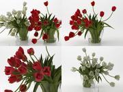 Tulips 01 3d model