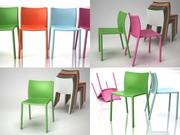 Fotel dmuchany 3d model