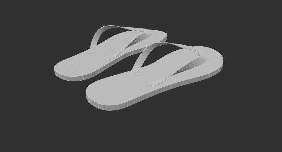 Flip-Flop royalty-free 3d model - Preview no. 10