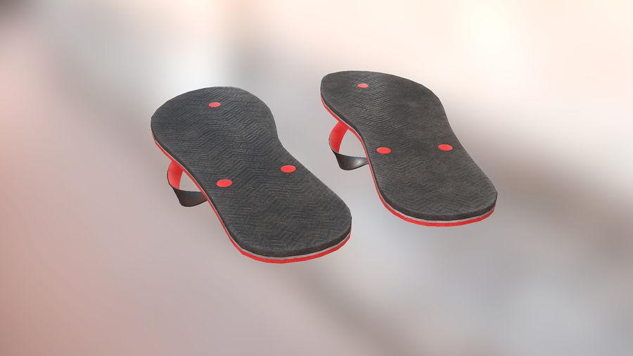 Flip-Flop royalty-free 3d model - Preview no. 8
