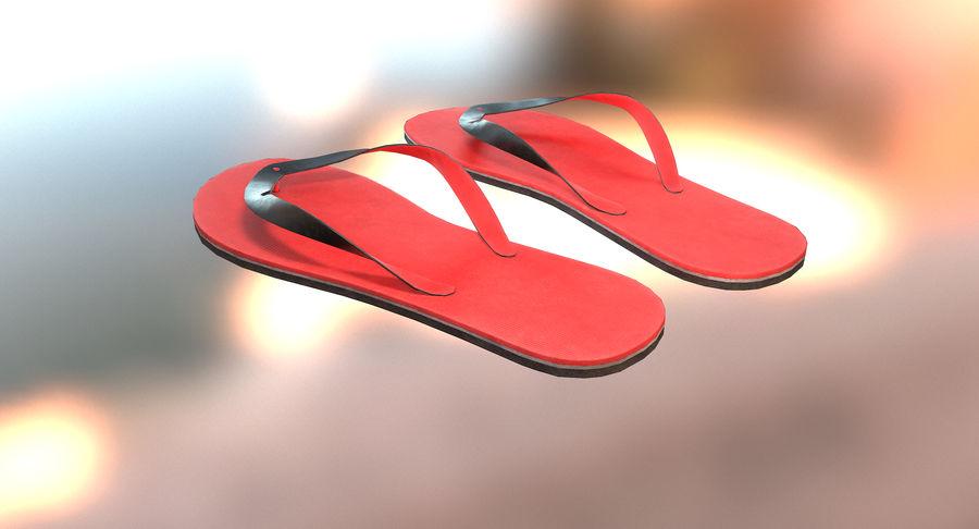 Flip-Flop royalty-free 3d model - Preview no. 3
