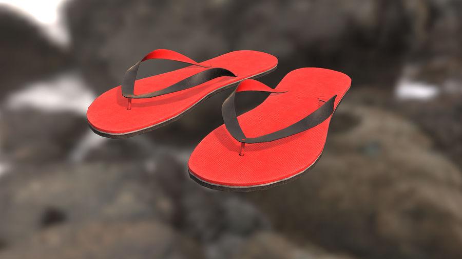 Flip-Flop royalty-free 3d model - Preview no. 5