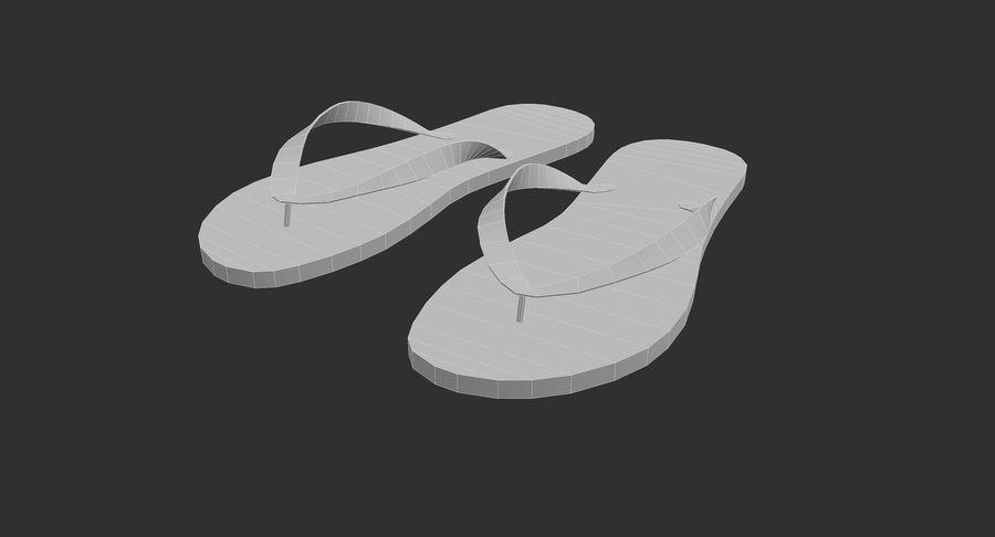 Flip-Flop royalty-free 3d model - Preview no. 9