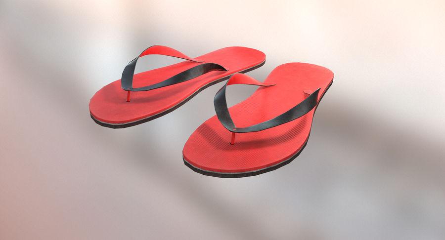 Flip-Flop royalty-free 3d model - Preview no. 2