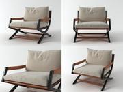 艾米丽扶手椅 3d model