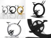 Ciclotte stationäres Fahrrad 3d model
