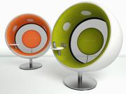 Krzesło Sonic 3d model