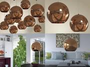 Copper Shade Pendant 3d model