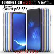 Samsung Galaxy S8 och S8 PLUS COLLECTION 3d model
