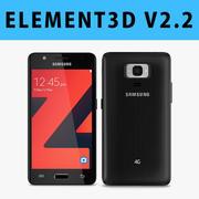 E3D - Smartphone Samsung Z4 3d model