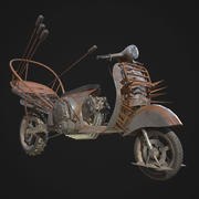 Mad Max Vespa 3d model