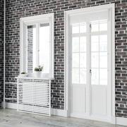 Skandynawskie okna 3d model