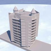 Corona Haus Wohnhaus, Apartmenthaus 3d model