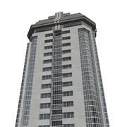 超高層ビル2 3d model