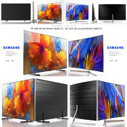 SAMSUNG TV flat and curve 3d model