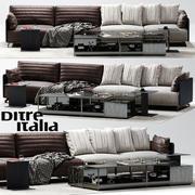 Ditre Italia BAG Soffa 3d model