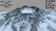 雪火山 3d model