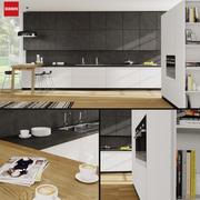 Keuken Scavolini Scenery 3d model