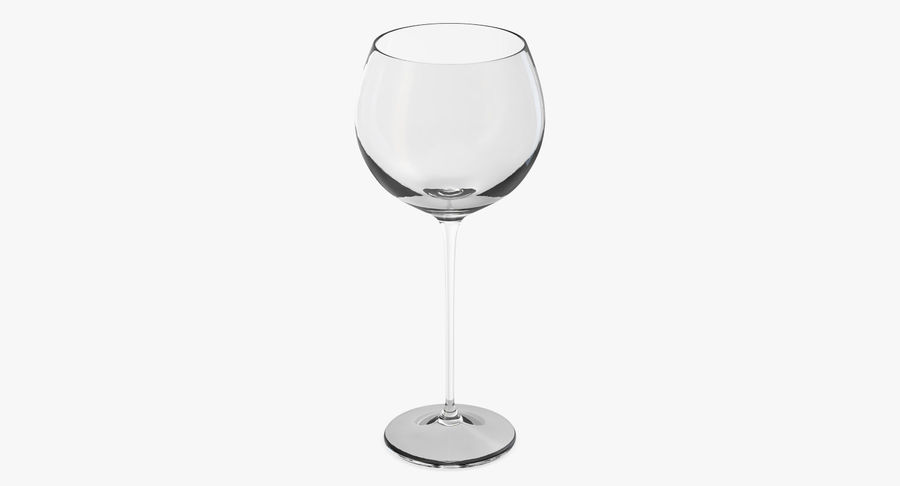 Воздушный шар бокал для вина royalty-free 3d model - Preview no. 3