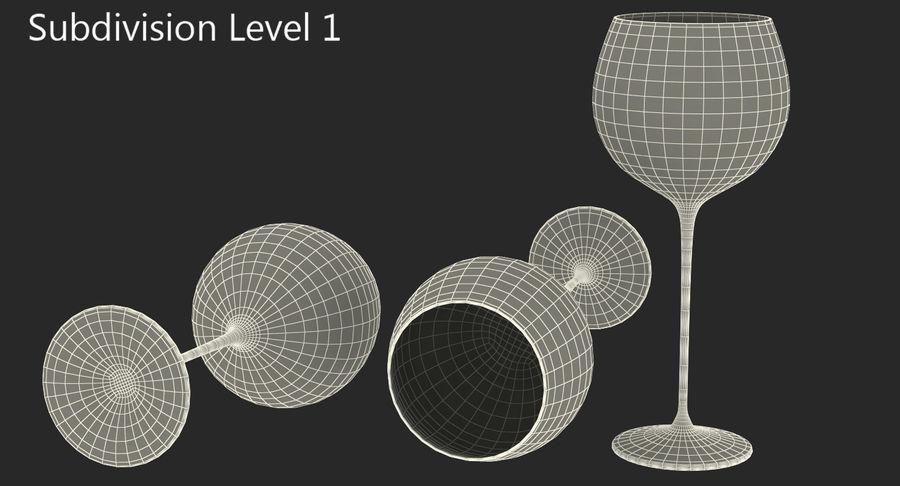 Воздушный шар бокал для вина royalty-free 3d model - Preview no. 15