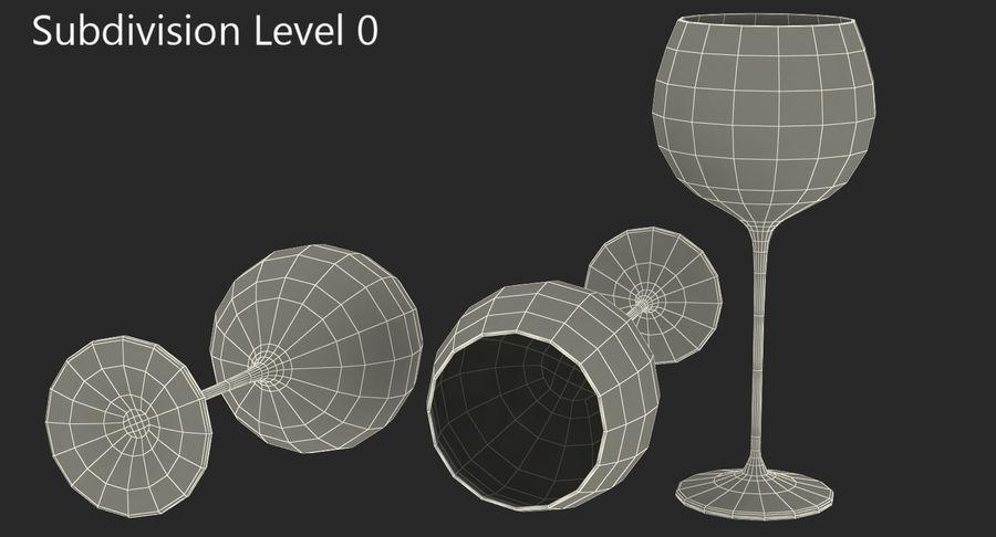 Воздушный шар бокал для вина royalty-free 3d model - Preview no. 14