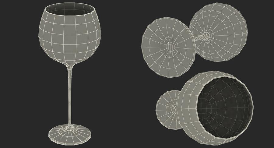 Воздушный шар бокал для вина royalty-free 3d model - Preview no. 23