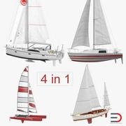 帆船游艇系列2 3d model