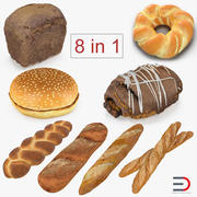 Bakery Products 3D Models Collection 3 3d model