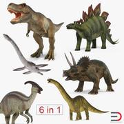 Dinosaurs 3D Models Collection 3d model